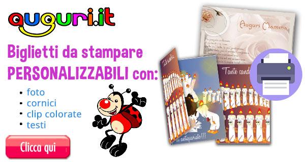 Biglietti Gratis Auguri Da Stampare Belli E Originali