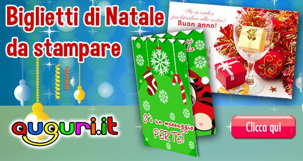 Biglietti Di Auguri Di Buon Natale Gratis.Biglietti Gratis Auguri Di Natale Da Stampare Auguri It