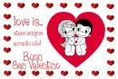 Love is... per festeggiare San Valentino