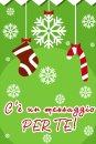 Buon Natale dalla coccinella portafortuna